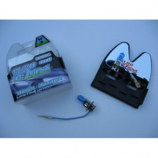 H3 Halogen Superwhite Bulbs (blue tint)