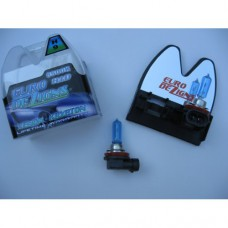 H9 Halogen Superwhite Bulbs (blue tint)