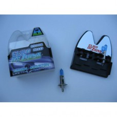H1 Halogen Superwhite Bulbs (blue tint)