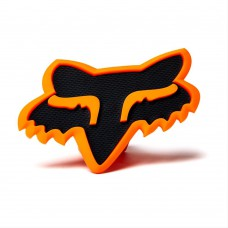 Orange Fox Head Trailer Hitch Cover