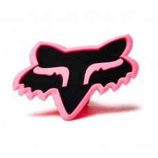 Pink Fox Head Trailer Hitch Cover